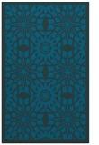 rug #1138095 |  blue borders rug