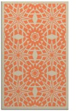 rug #1138247 |  orange geometry rug