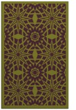 rug #1138275 |  green graphic rug