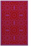 rug #1138299 |  red geometry rug
