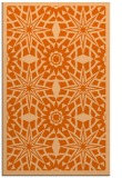 rug #1138307 |  red-orange graphic rug