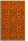 rug #1138311 |  red-orange borders rug