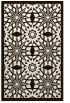 rug #1138331 |  brown geometry rug