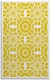 rug #1138355 |  yellow geometry rug