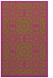 rug #1138375 |  light-green borders rug