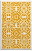 rug #1138383 |  light-orange graphic rug