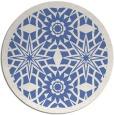 rug #1138447   round blue borders rug