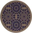 rug #1138503 | round beige borders rug