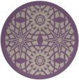 rug #1138583 | round beige graphic rug