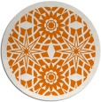 rug #1138611 | round orange borders rug