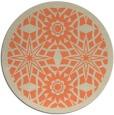 rug #1138615 | round beige borders rug