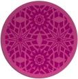 rug #1138623 | round pink borders rug