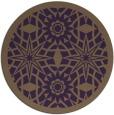 rug #1138647 | round purple borders rug