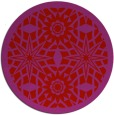 rug #1138667 | round red graphic rug