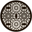 rug #1138699 | round brown graphic rug