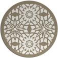 rug #1138711 | round beige geometry rug