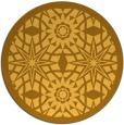 rug #1138727   round light-orange borders rug