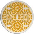 rug #1138751 | round light-orange graphic rug