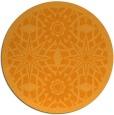 rug #1138759 | round light-orange borders rug