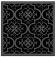 rug #1139143 | square black damask rug