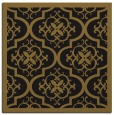 rug #1139155 | square mid-brown rug