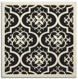 rug #1139159 | square black damask rug
