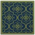 rug #1139179 | square blue traditional rug
