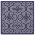 rug #1139223 | square blue-violet damask rug