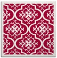 rug #1139251 | square red traditional rug