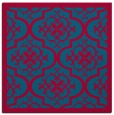 rug #1139255 | square blue-green traditional rug