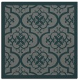 rug #1139263 | square green traditional rug