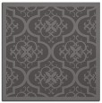 rug #1139287 | square mid-brown borders rug