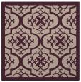 rug #1139299 | square pink damask rug