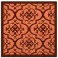 rug #1139355 | square orange popular rug