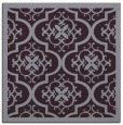 rug #1139387 | square purple borders rug