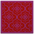rug #1139403 | square red traditional rug