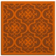 rug #1139415 | square red-orange borders rug