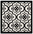rug #1139423 | square white borders rug