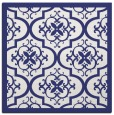 rug #1139431 | square white damask rug