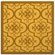 rug #1139463 | square light-orange traditional rug