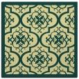 rug #1139467 | square yellow damask rug