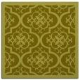 rug #1139471 | square light-green traditional rug