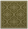rug #1139483 | square light-green damask rug