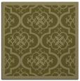 rug #1139483 | square light-green borders rug