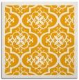 rug #1139487 | square light-orange damask rug