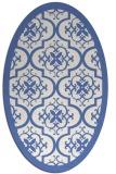 rug #1139552 | oval borders rug