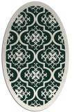 rug #1139637 | oval borders rug