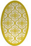 rug #1139795 | oval white borders rug