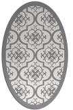 rug #1139830 | oval borders rug