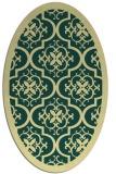 rug #1139836 | oval borders rug
